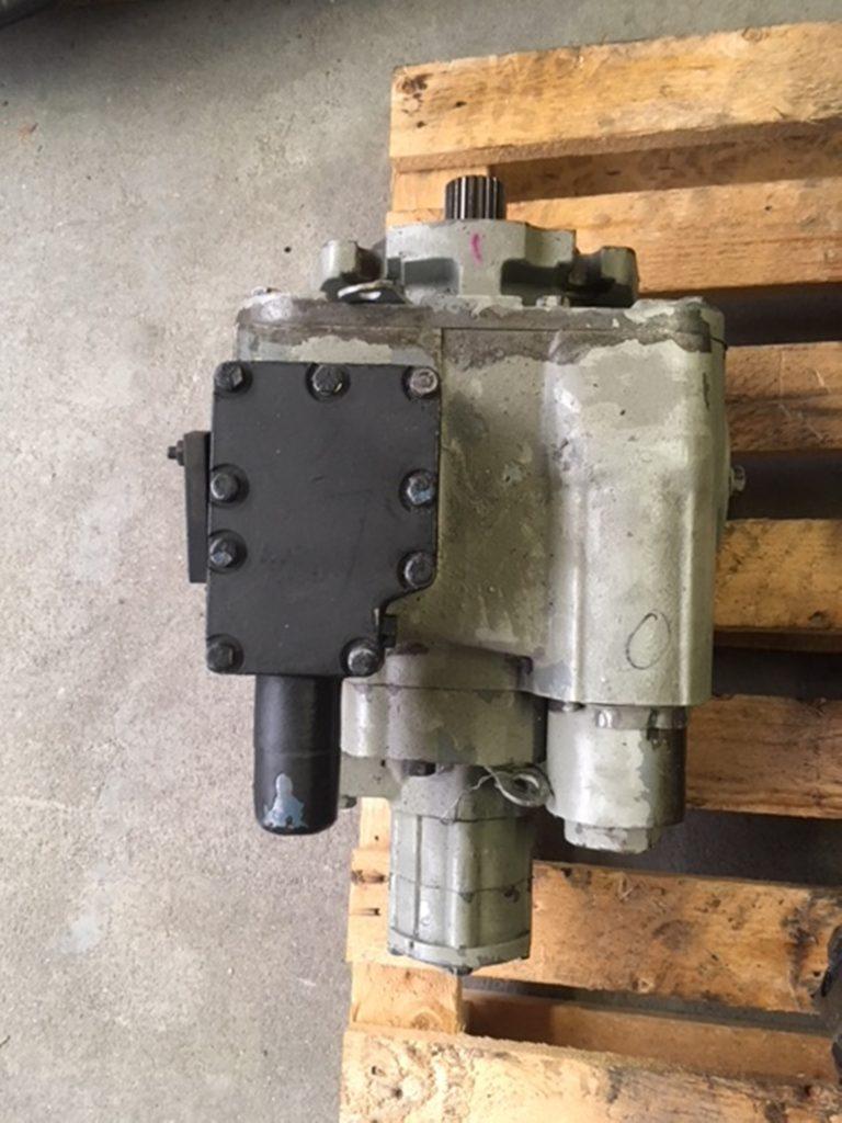Plunjer pomp 89cc gesloten system