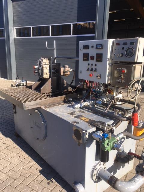 Hydraulische testbank